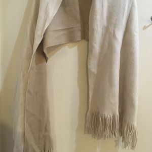 Tan/Cream Reversible Scarf H&M